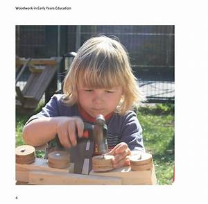 Woodwork In Early Years Education