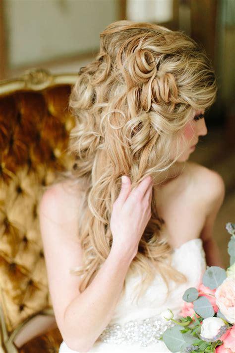 glamorous  romantic wedding hairstyles ohh