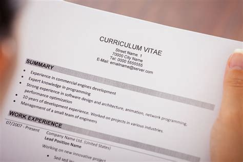 the 8 items you should take your resume right now