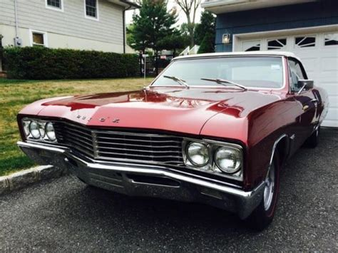 1967 Buick Skylark Convertible For Sale by 1967 Buick Skylark Convertible 340 Classic Buick Skylark