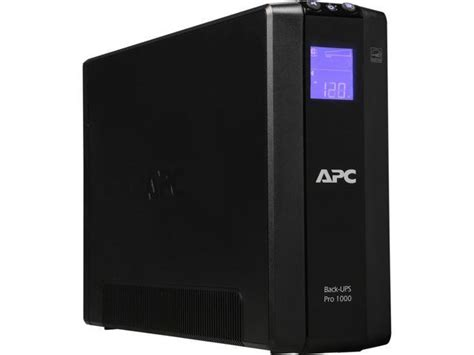 apc br1000g back ups pro 1000va 8 outlet uninterruptible power supply ups newegg