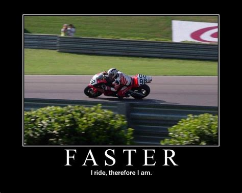 Funny Motorcycle Picture Motivational Posters