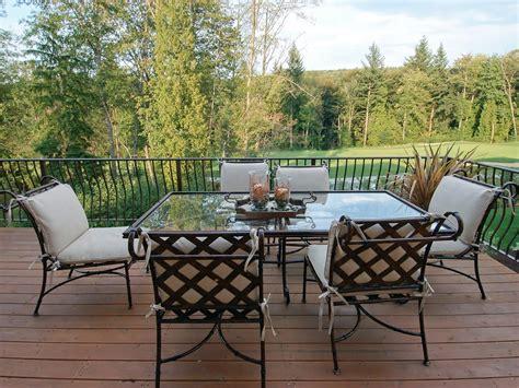outdoor furniture cast aluminum patio furniture hgtv