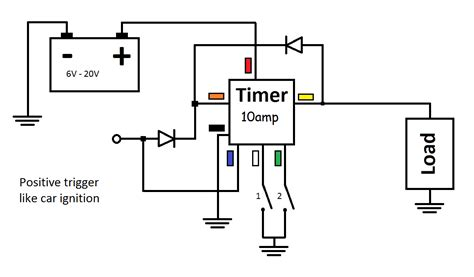 time off delay circuit timers shop