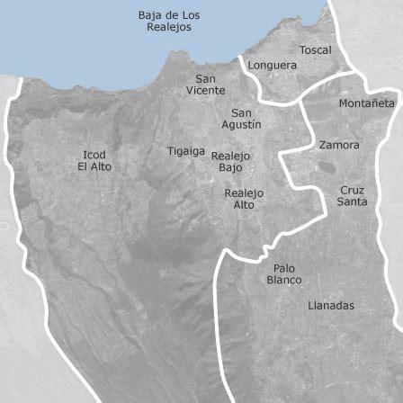 mapa de los realejos santa cruz de tenerife viviendas en