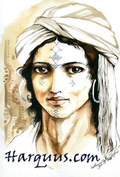 Tatouage Kabyle Algerie