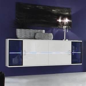 Sideboard Hängend Weiß Hochglanz : designer sideboard h ngesideboard toledo weiss hochglanz ~ Watch28wear.com Haus und Dekorationen