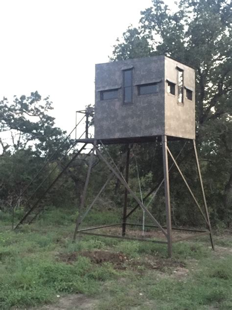 5x7 Deer Hunting Blinds  Atascosa Wildlife Supply Texas
