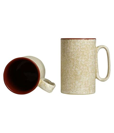 The perfect cup of happiness needs the perfect accessories. Caffeine Stoneware Coffee Cup 8 Pcs: Buy Online at Best Price in India - Snapdeal
