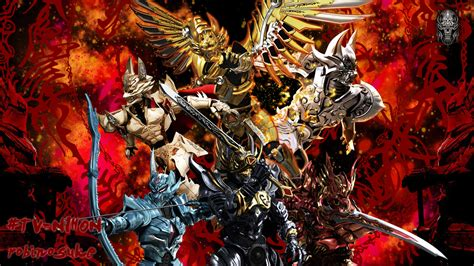 Garo Anime Wallpaper - garo splash 1 by robinosuke on deviantart