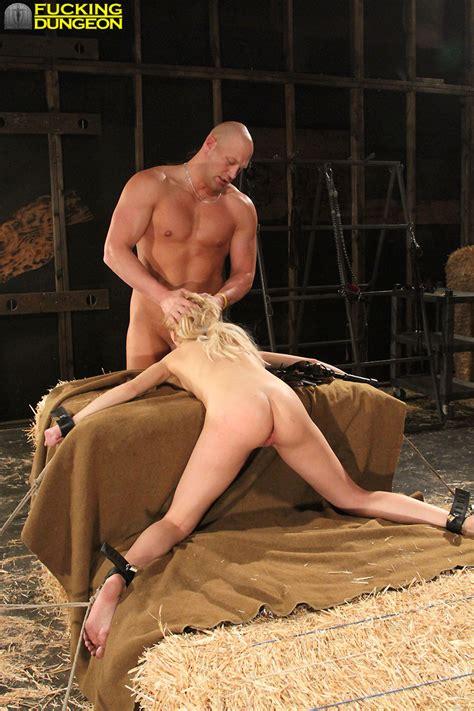 Mallory Bondage Fucked in The Barn. - Pichunter
