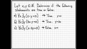 Proof Examples With Answers