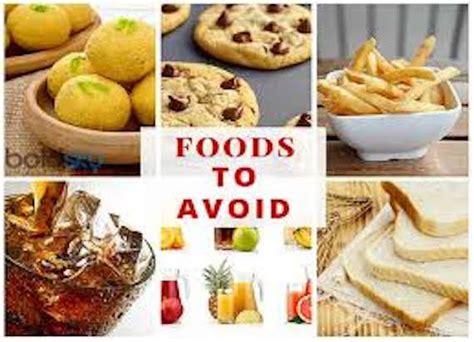 foods  avoid    diabetic samarth community