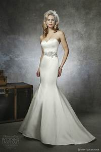 justin alexander bridal spring 2013 sponsor highlight With strapless mermaid satin wedding dress