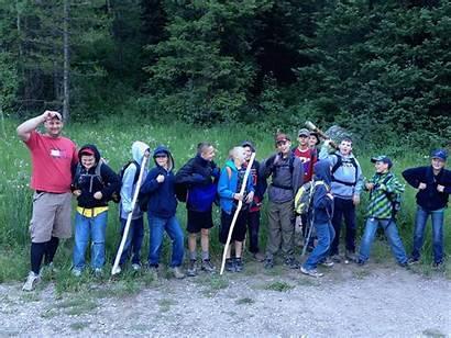 Hike Trail Morning Rock Treasure Mountain Troop