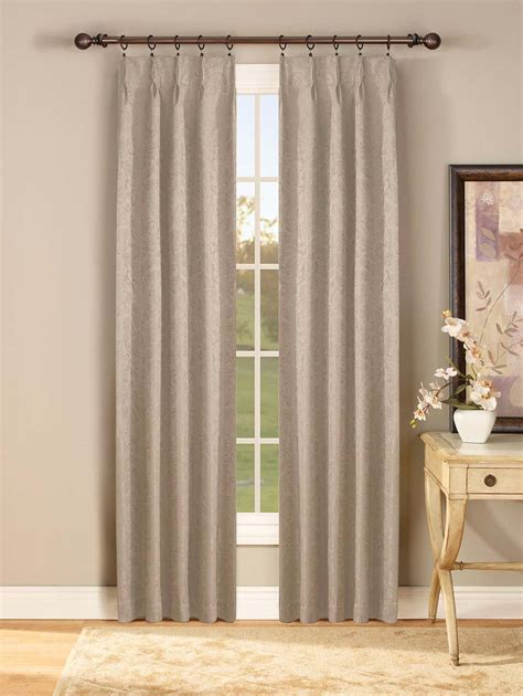 pinch pleated drapes curtain rods tracks decorating decor interiors