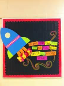 Rocket Ship Bulletin Board Idea