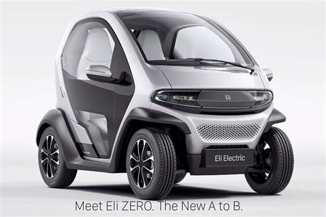 New Eli Zero Electric Car Apes Renault's Twizy At Ces 2017