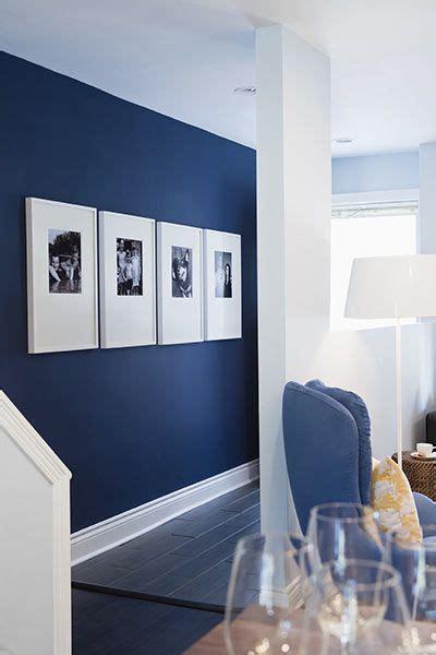 cuadros foto  pared azul colores de interiores