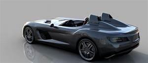 Mercedes SLR stirling moss Autodesk Online Gallery