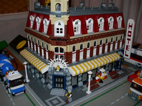 Brick Town Talk Cafe Extension  Lego Town, Architecture