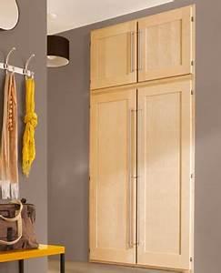 Porte De Placard Castorama : installer une porte de placard battante les bonnes ~ Dailycaller-alerts.com Idées de Décoration