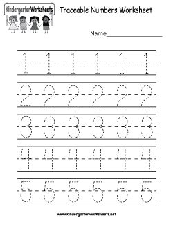traceable numbers worksheet kindergarten websites and worksheets number worksheets