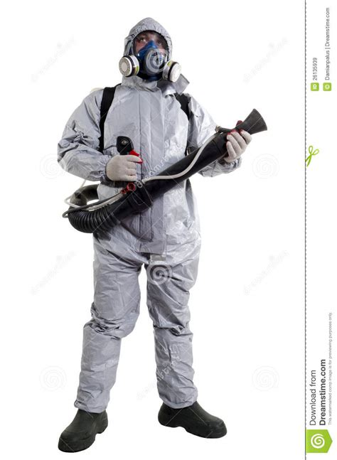 pest control worker royalty  stock images image
