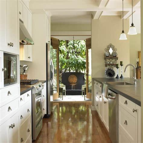 corridor kitchen designs 11 unique styles of decorating a galley kitchen bonito 2624