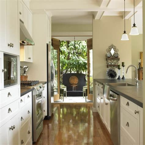 unique styles  decorating  galley kitchen bonito