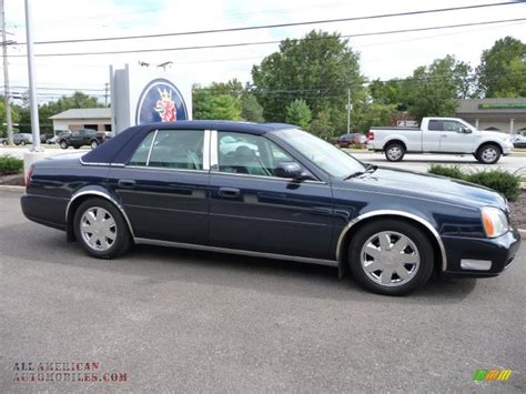 cadillac deville dts  blue onyx photo