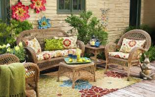 wicker in colors garden decor inspirations by pier1 modern outdoors