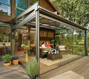 glass patio rooms from weinor glasoase modern outdoors With tente de jardin leroy merlin 13 terase din lemn