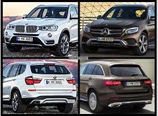 BildVergleich Mercedes GLC X253 trifft BMW X3 F25 LCI