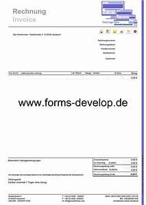 Rechnung Ohne Auftrag : rechnung fakturierung pdf formular a4h standard aktionsware ~ Themetempest.com Abrechnung