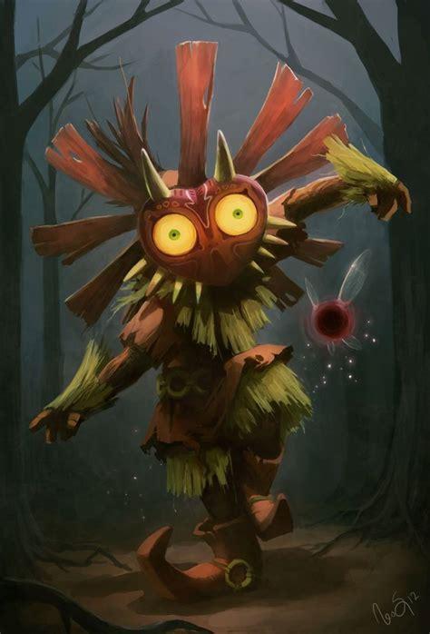 Majoras Mask The Legend Of Zelda Pinterest Artworks
