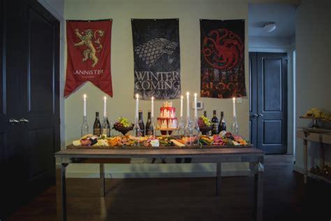 karas party ideas epic game  thrones party karas