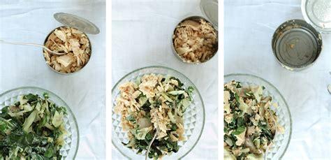 cuisiner les cotes de bettes pâtes sauce aux côtes de bettes et thon la délicieuserie