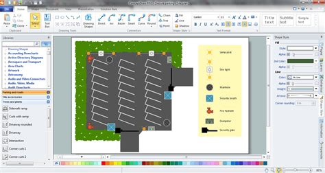 site plan software symbol  fire hydrant  cad