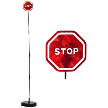 imperial home parkez flashing led light parking stop sign