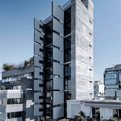 Facade Samara Fouad Apartment Sliding Architects Apartments