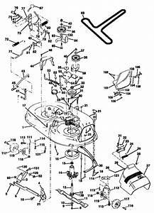 Mower Deck Diagram  U0026 Parts List For Model 917270810