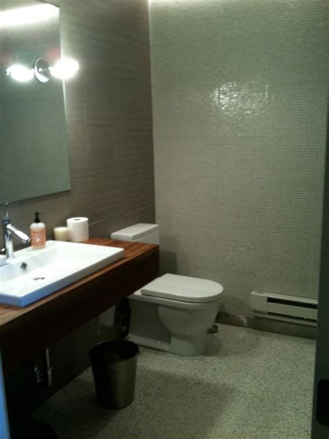 commercial doctors office contemporary bathroom