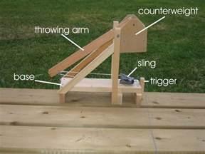 Plan Trebuchet Catapult Design