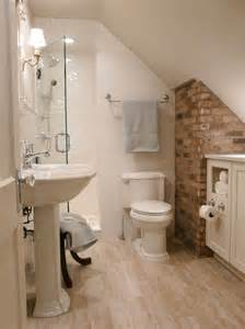 attic bathroom ideas small bathrooms big design hgtv