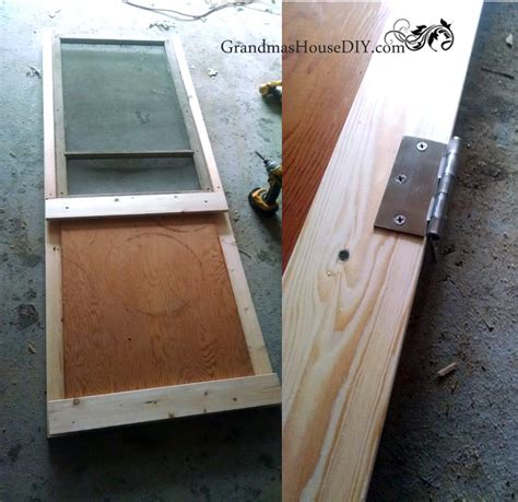 how to make a screen door hometalk how to build a screen door out of an window