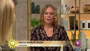 Maya Matchar Vin Till Rkig Mat Nyhetsmorgon TV4 YouTube