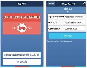 Declaration De Sinistre Auto : e d claration matmut une application pour d clarer son ~ Gottalentnigeria.com Avis de Voitures