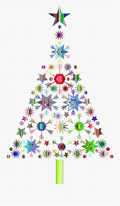 Tree Christmas Clipart Clip Abstract Background Graphic