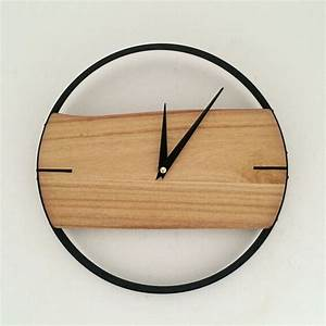 Aliexpress buy pinjeas natural wall clock brief